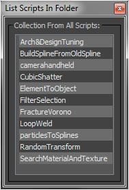 ListScripts